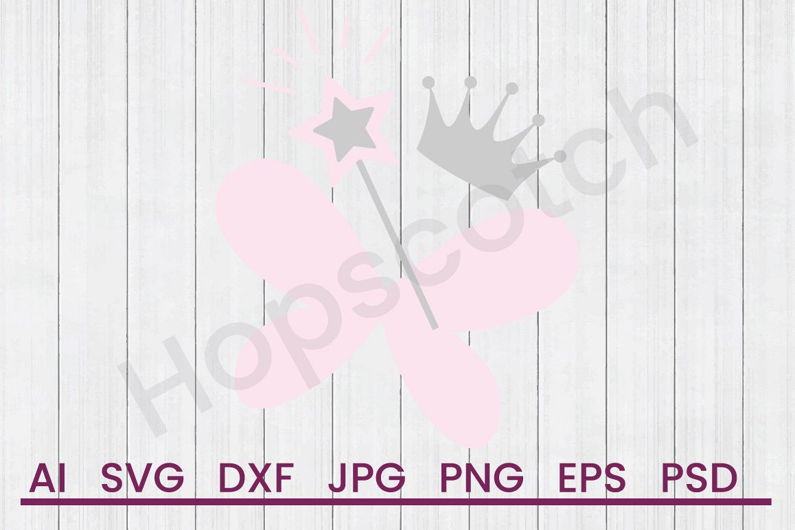 Fairy SVG, DXF File, Cuttatable File example image 1