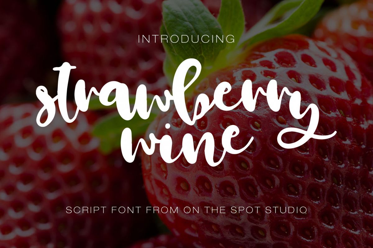 Strawberry Wine  example image 1