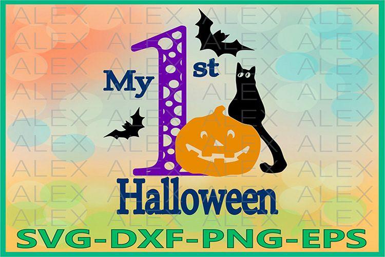 1st Halloween svg, Halloween Svg, Halloween png example image 1