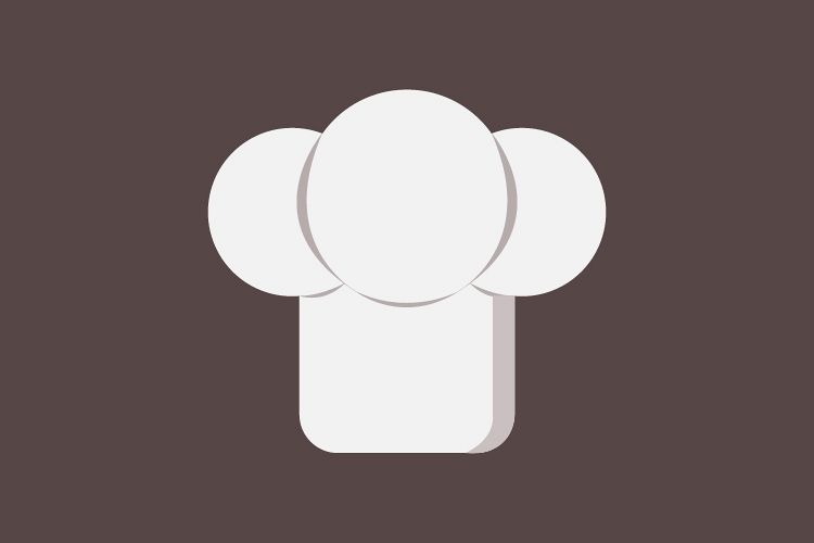 Chef hats icon example image 1