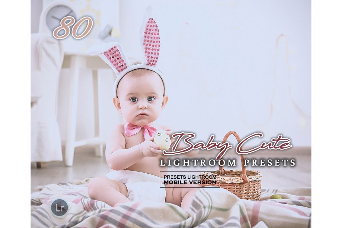 Baby Lightroom Mobile Presets Adroid and Iphone/Ipad example image 1