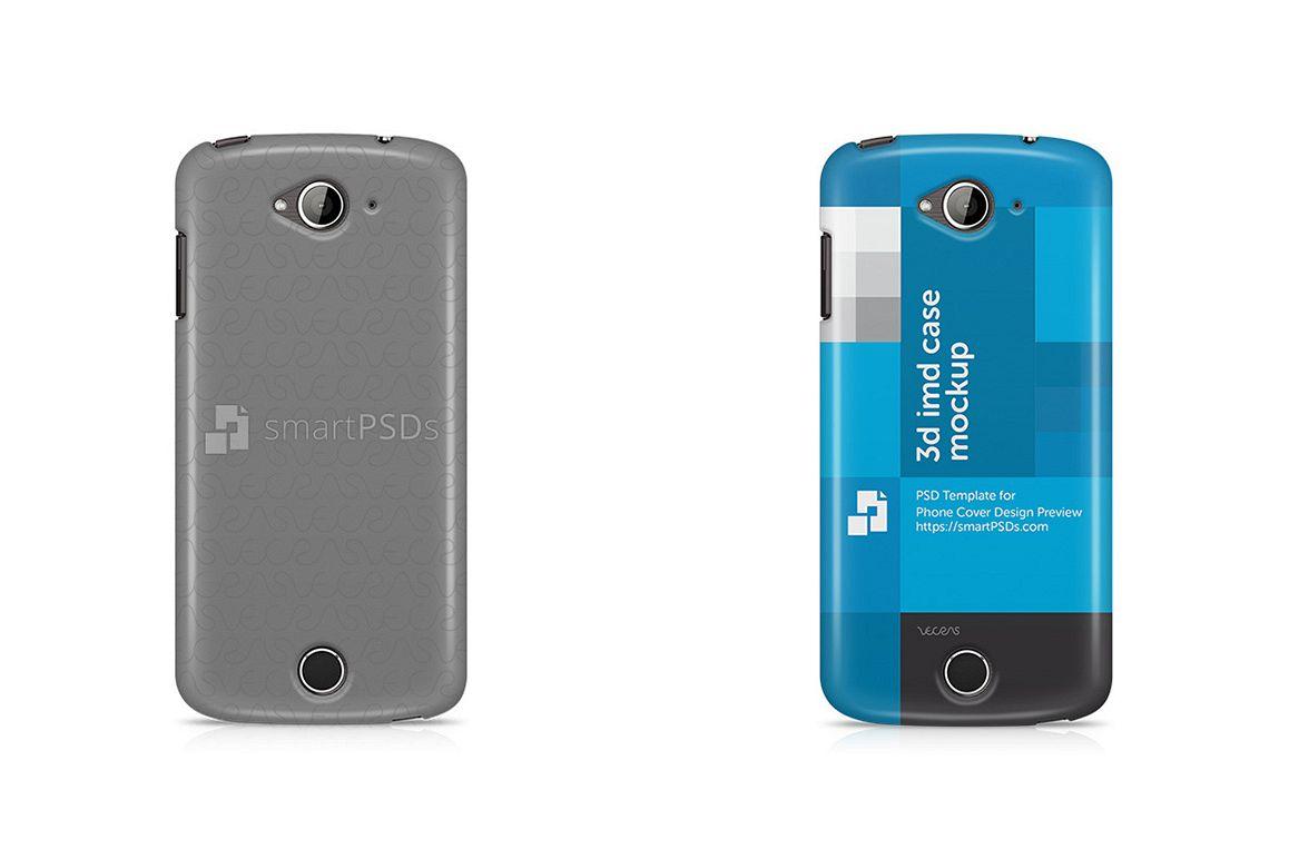 Acer Liquid Z530 3d IMD Mobile Case Design Mockup 2015 example image 1