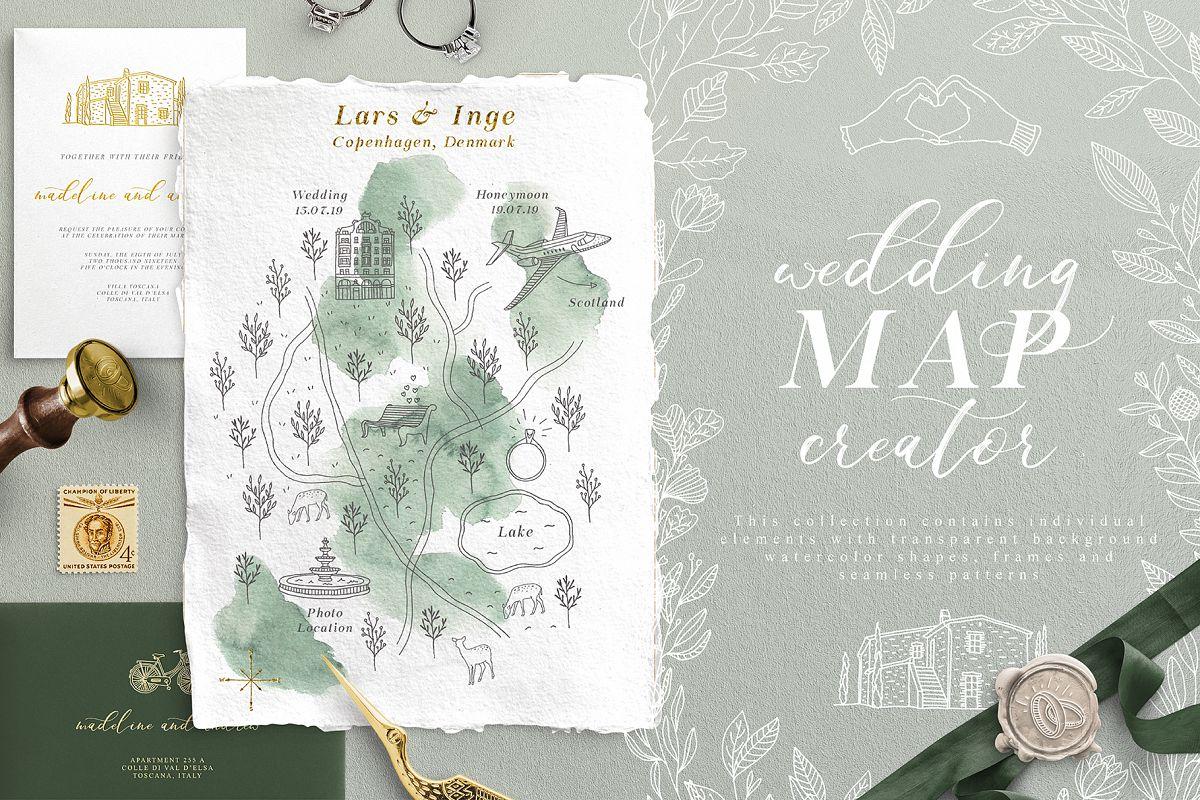 Wedding Map Creator example image 1