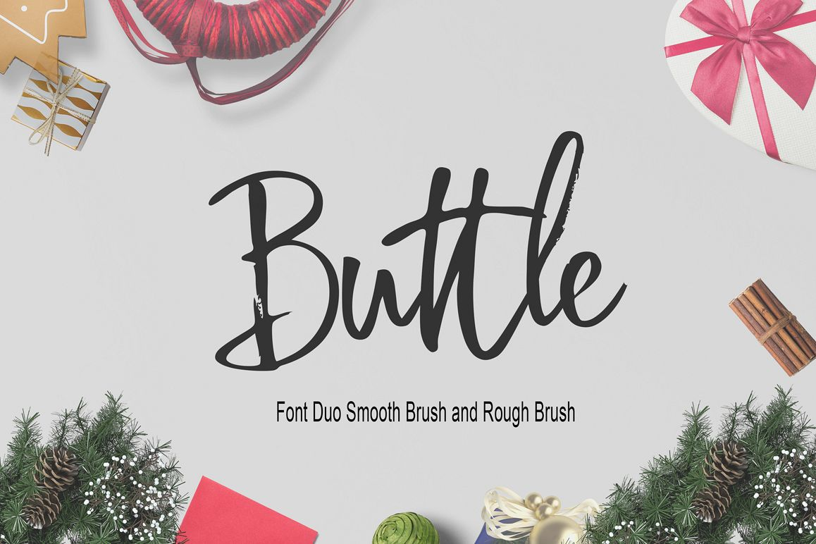 Buttle Font Duo example image 1