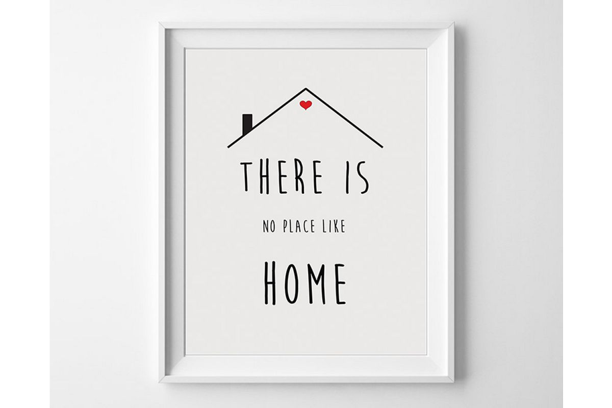 Minimalist Wall Art Quotes, Printable Home Quotes Poster example image 1