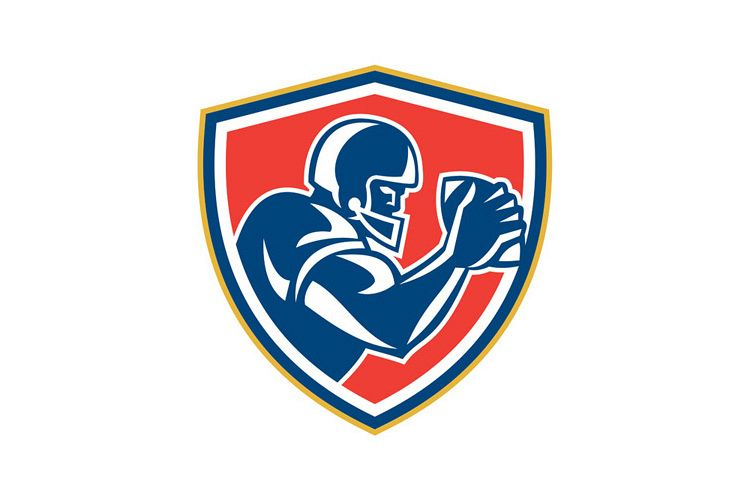 American Football Player Ball Side Shield example image 1