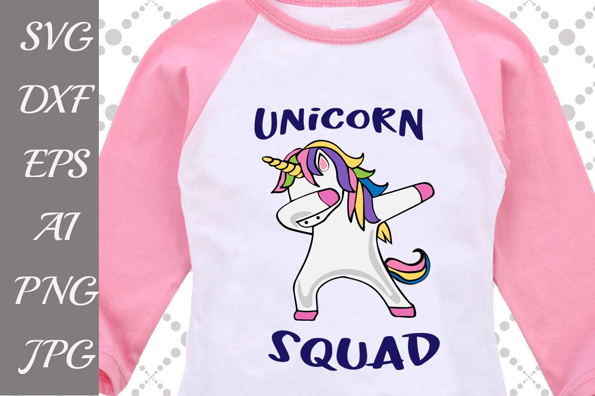 Unicorn Squad Svg example image 1