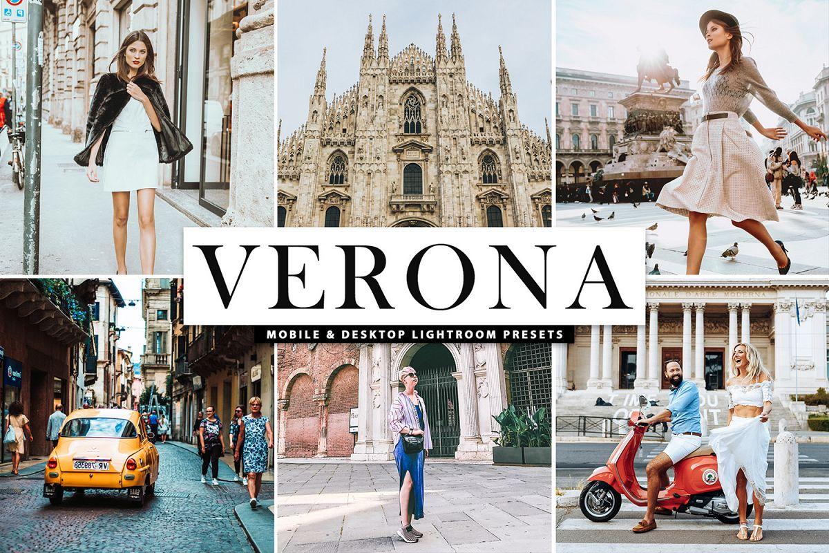 Verona Mobile & Desktop Lightroom Presets example image 1