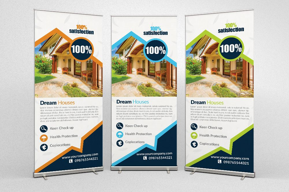 Real Estate Roll Up Banner example image 1