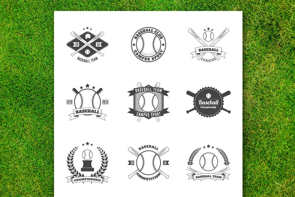 Baseball Badge Collection example image 1