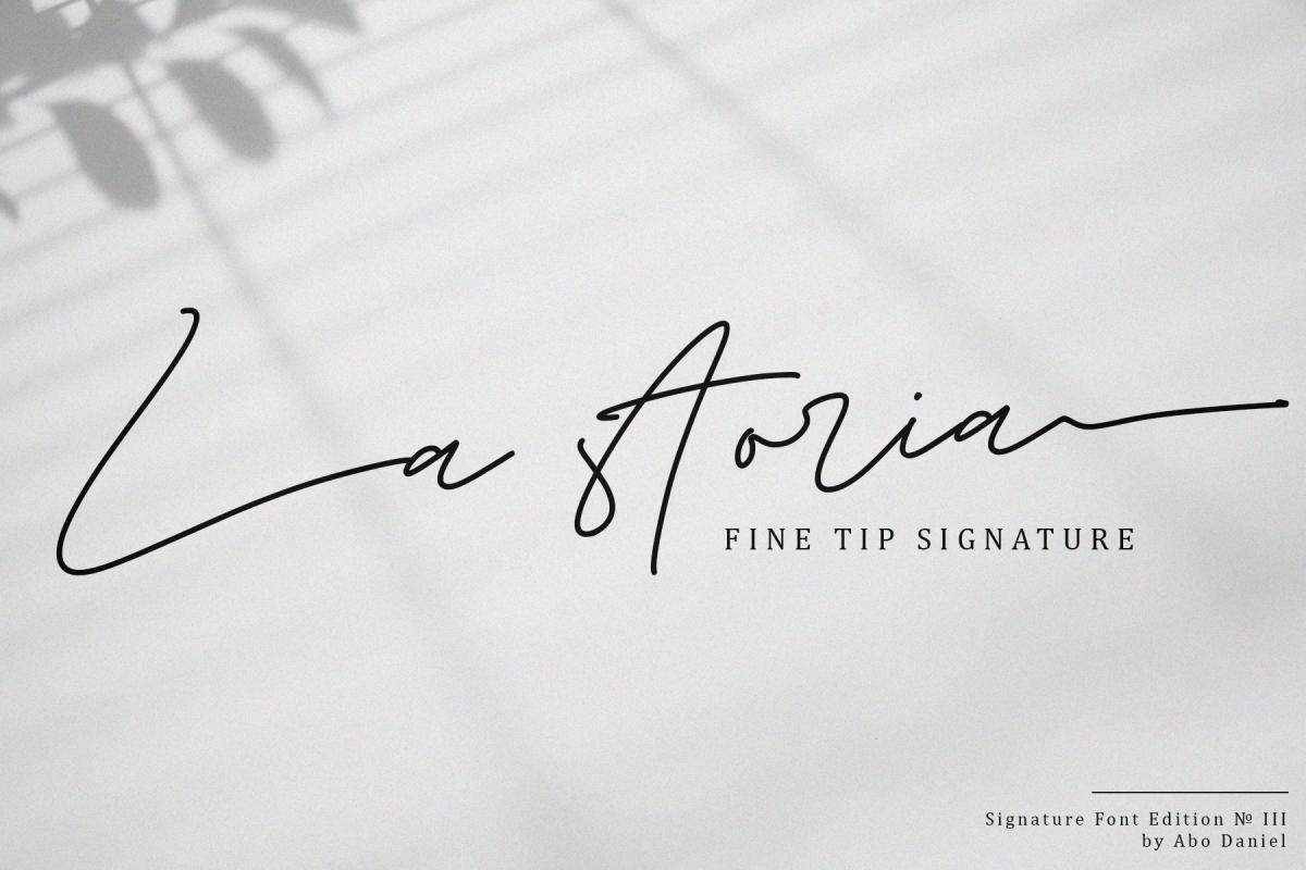 La Storia -2 Weight Signature- example image 1