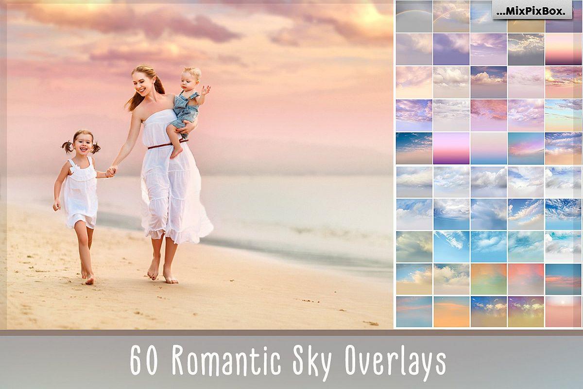 60 Romantic Sky Overlays example image 1