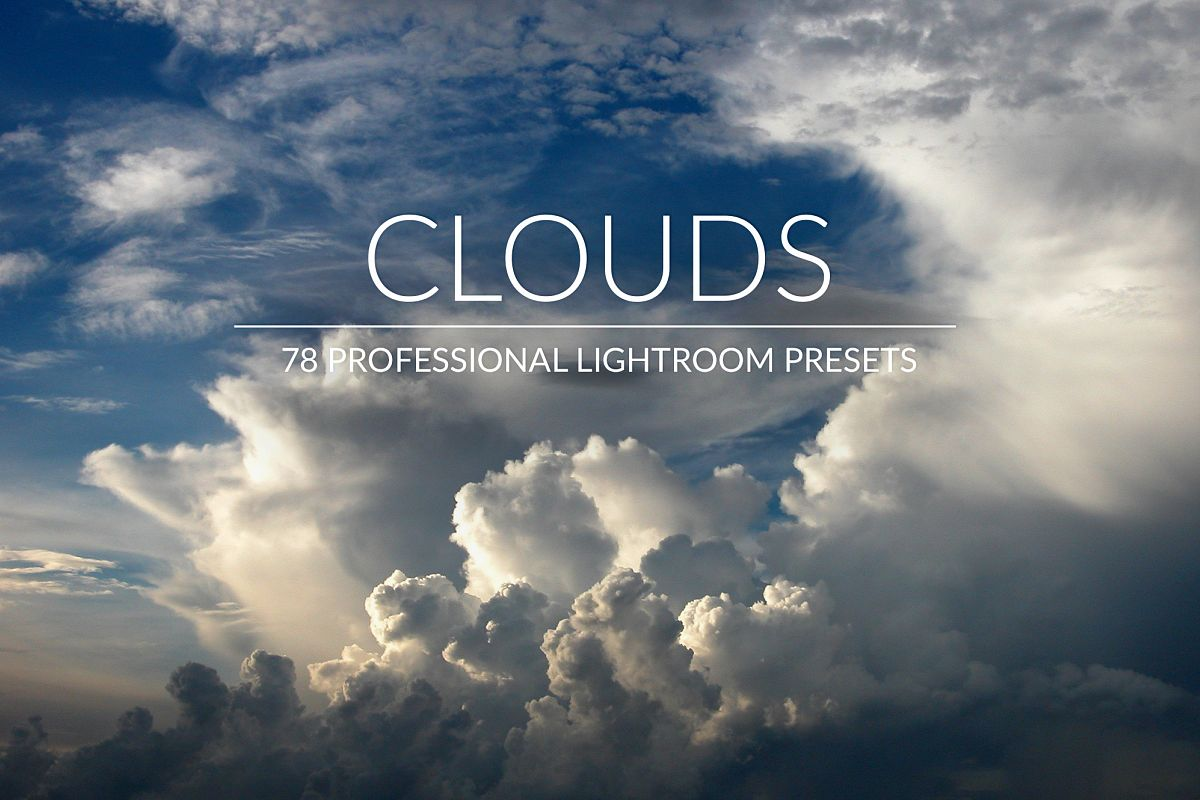 Clouds Lr Presets example image 1