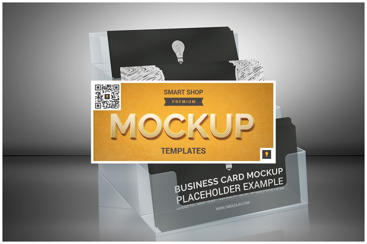 Business Card Holder Mockup example image 1