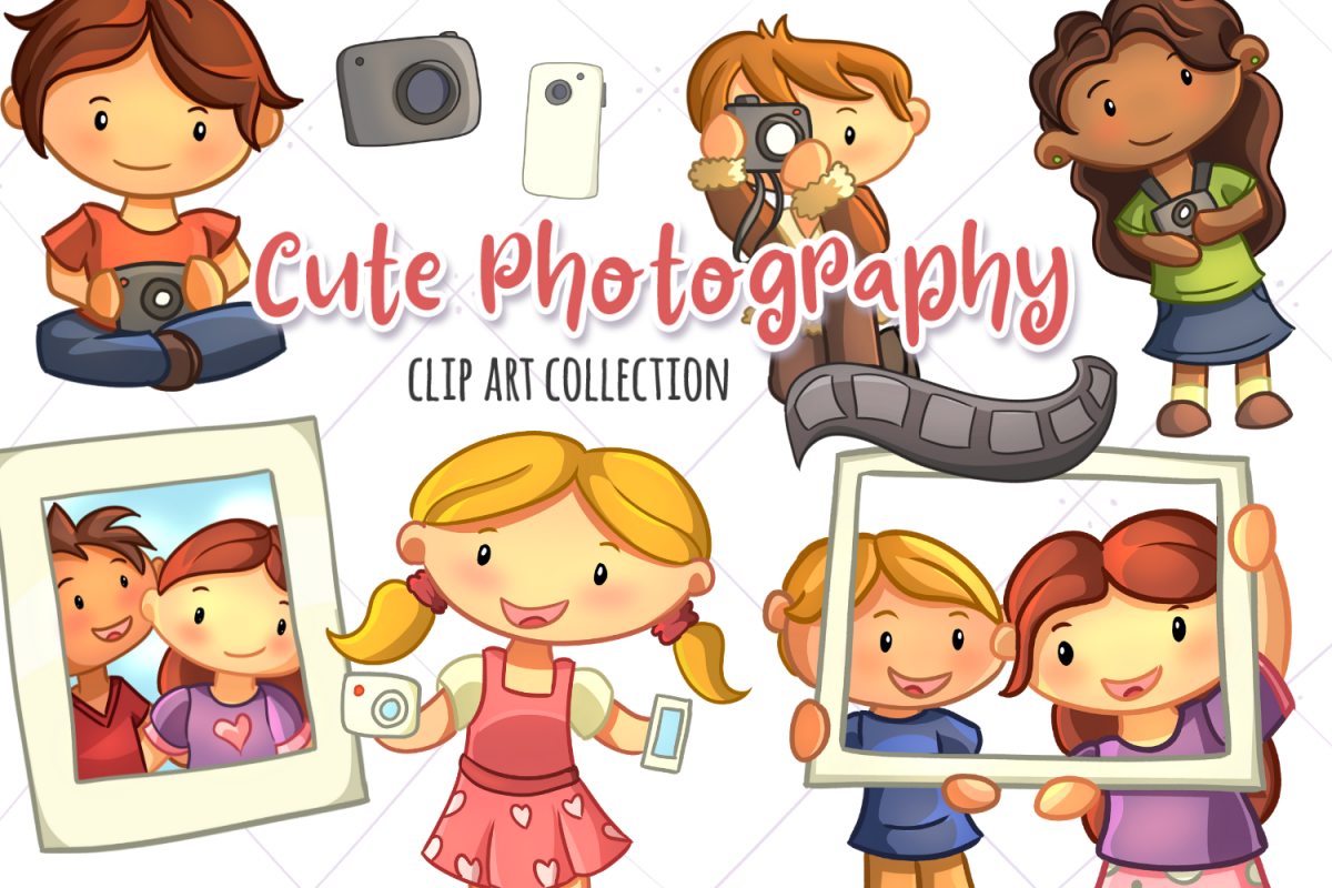 Cute Photography Illustrations example image 1