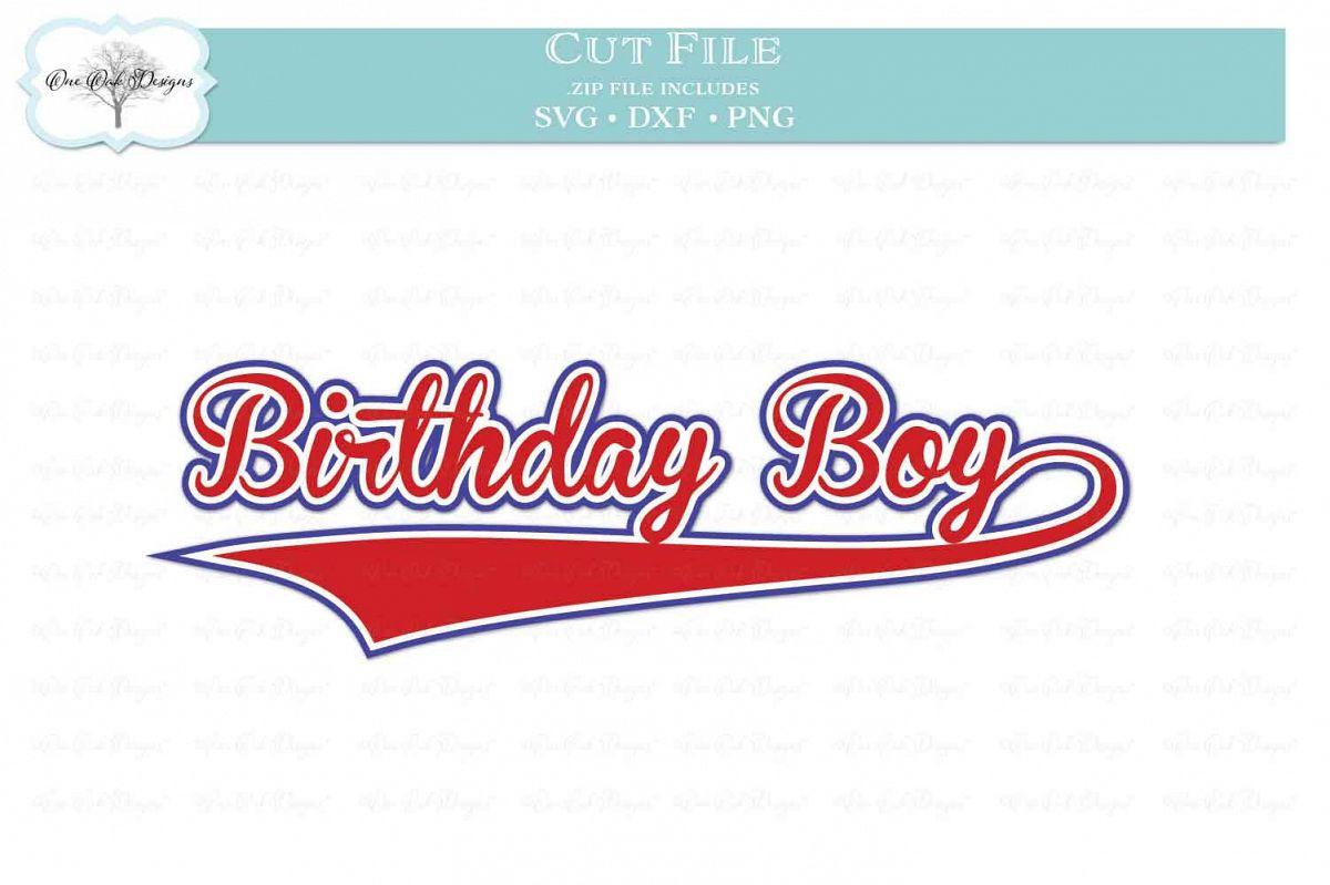 Birthday Boy Baseball Script example image 1