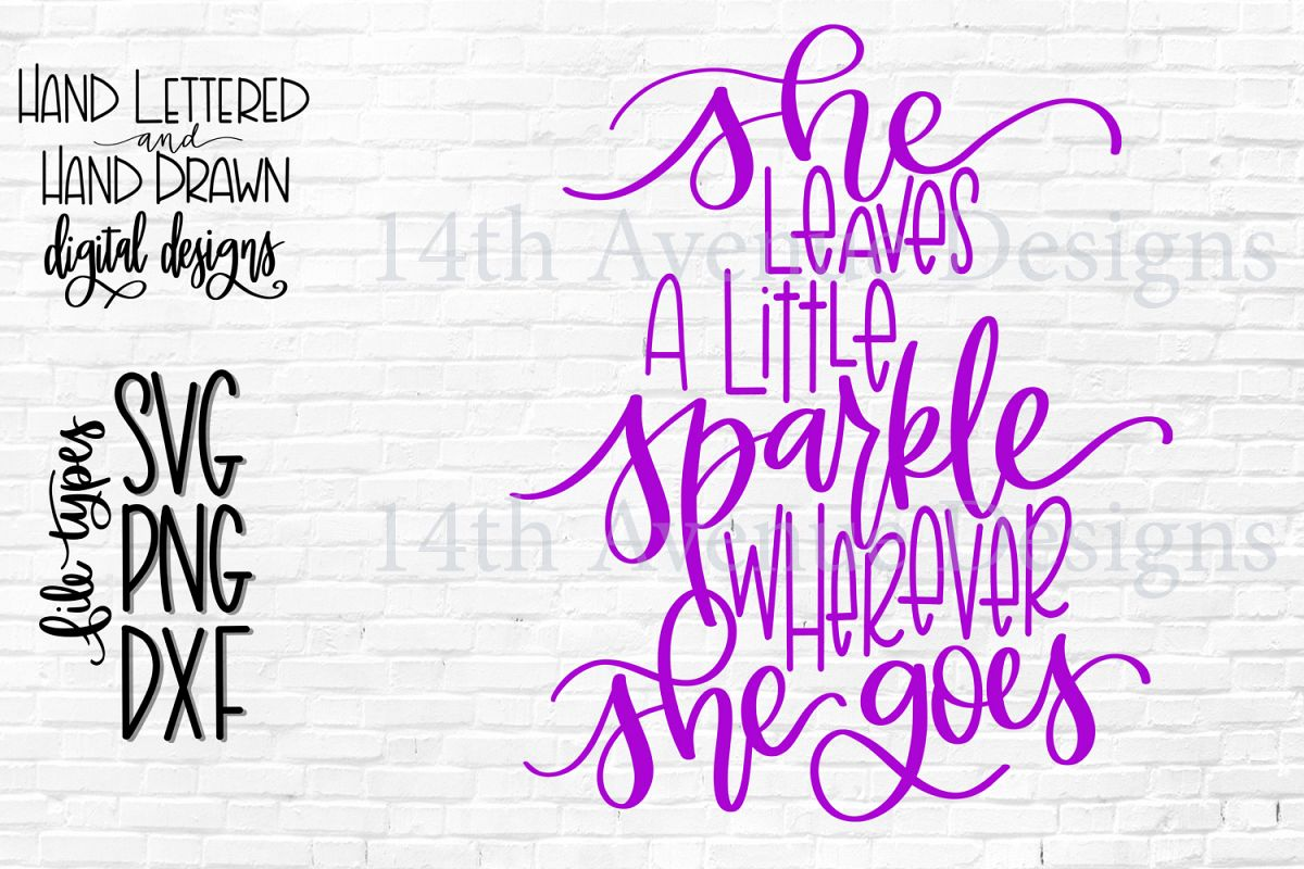 photograph about She Leaves a Little Sparkle Wherever She Goes Free Printable titled She Leaves A Minor Sparkle Any place She Goes SVG, Lady SVG