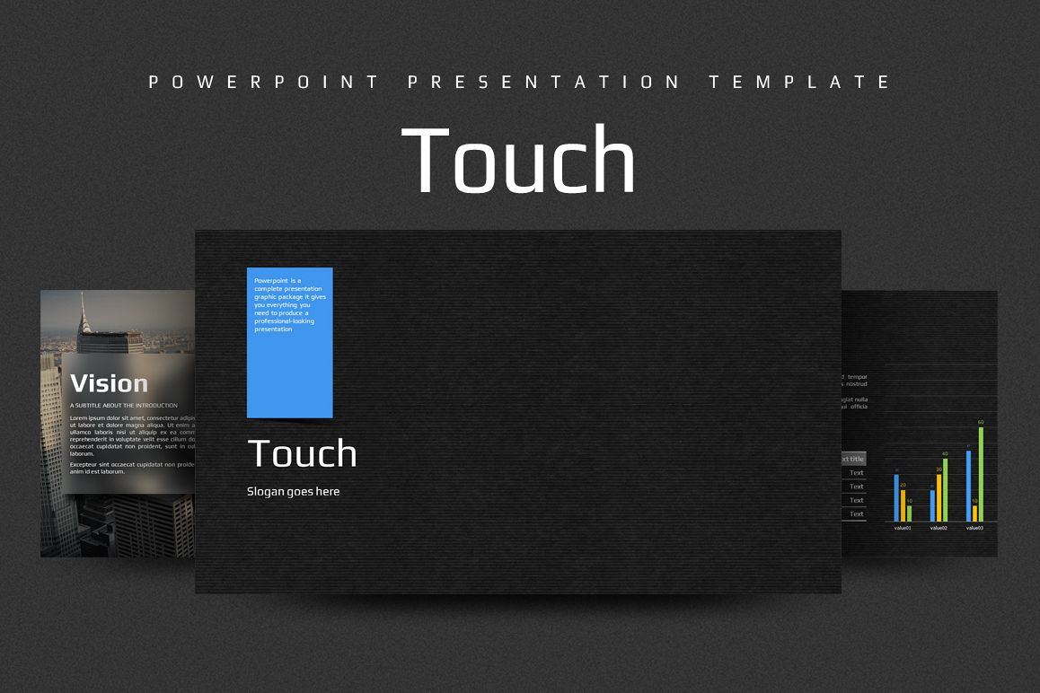 Touch PPT example image 1