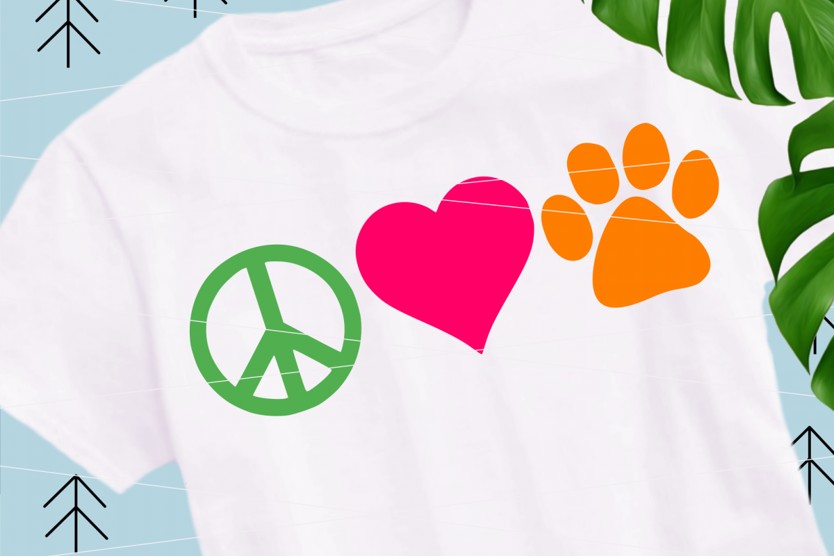 Love Paw svg example image 1
