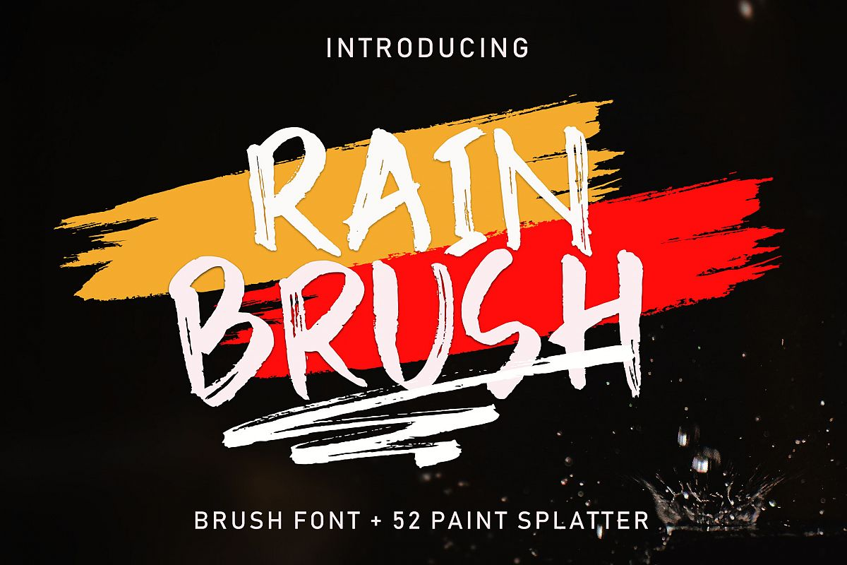 Rain Brush example image 1