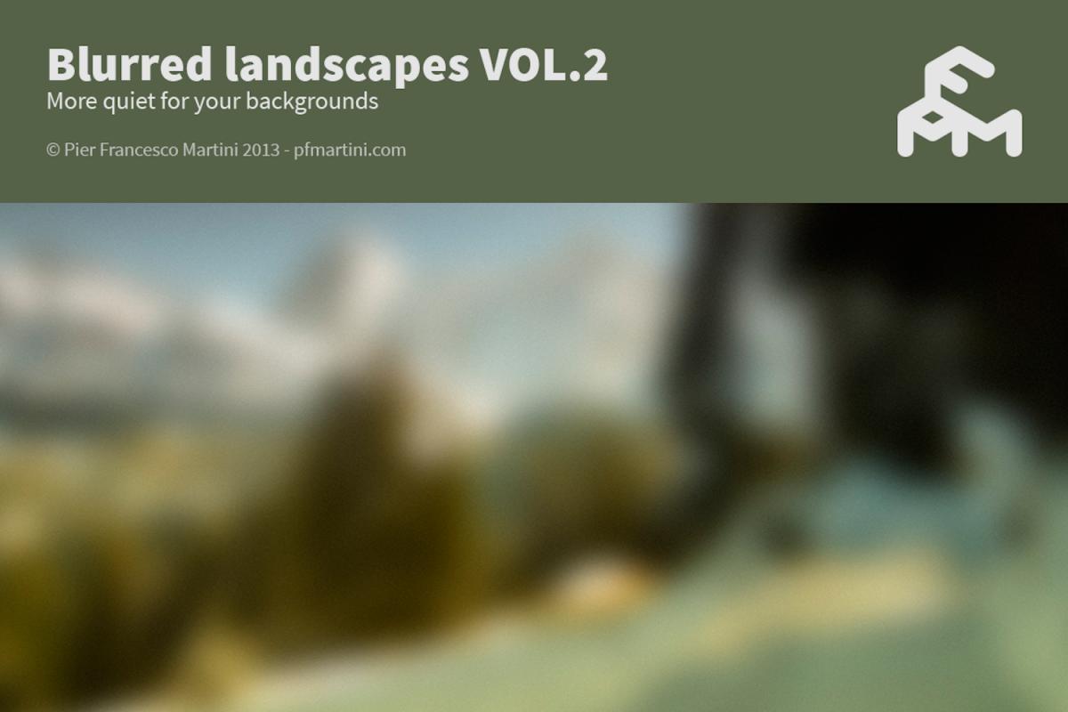 50 Blurred landscapes VOL.2 example image 1