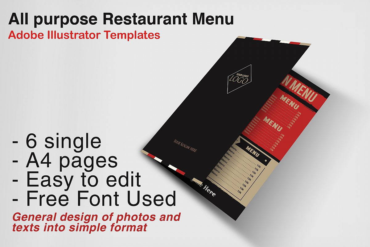 Restaurant Menu example image 1