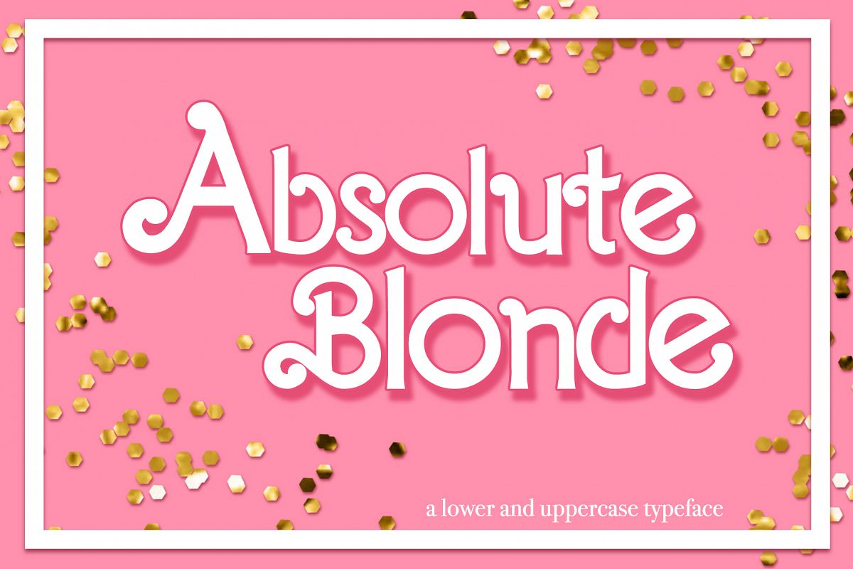 Absolute Blonde Typeface example image 1