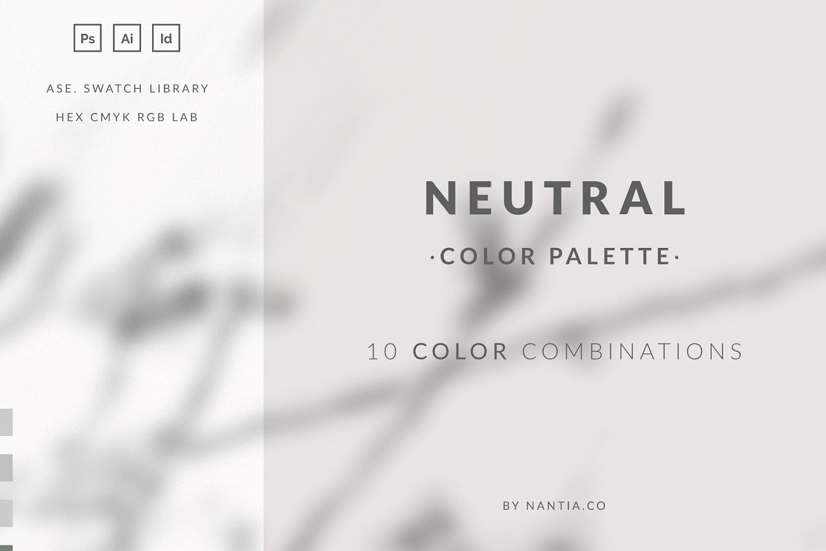 Neutral Color Palette collection example image 1