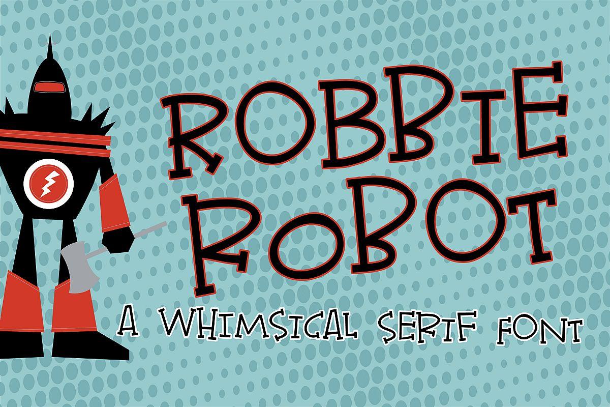 PN Robbie Robot example image 1