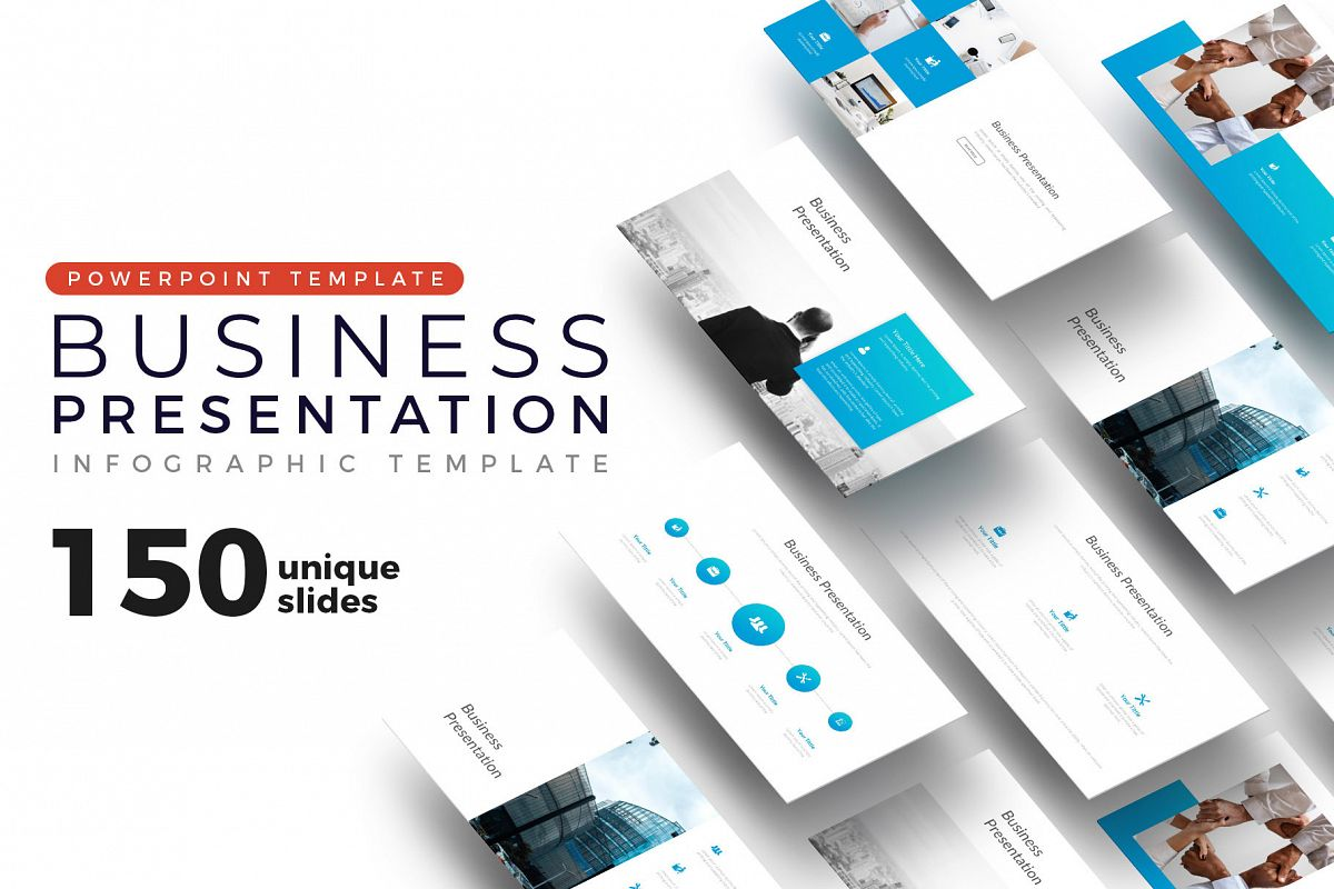 Big Business Presentation Template example image 1