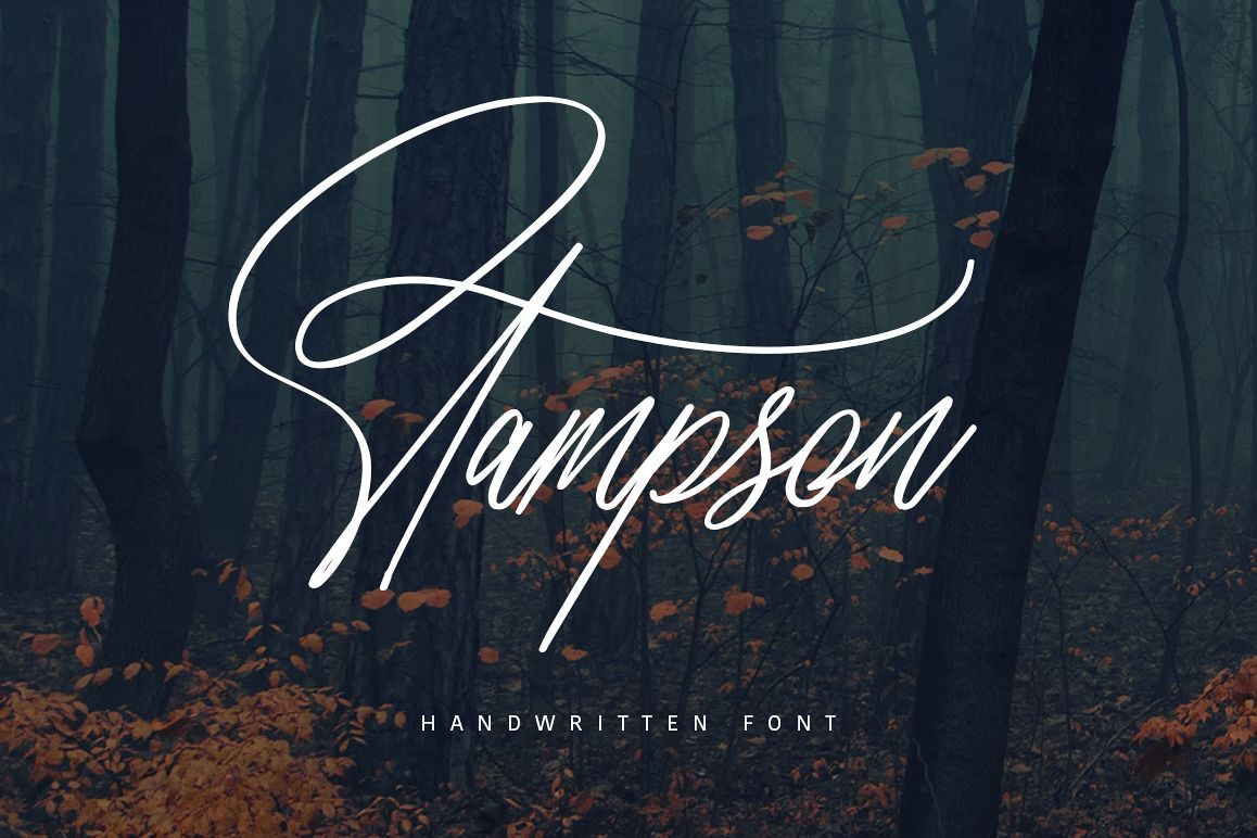 Stampson Signature Font example image 1