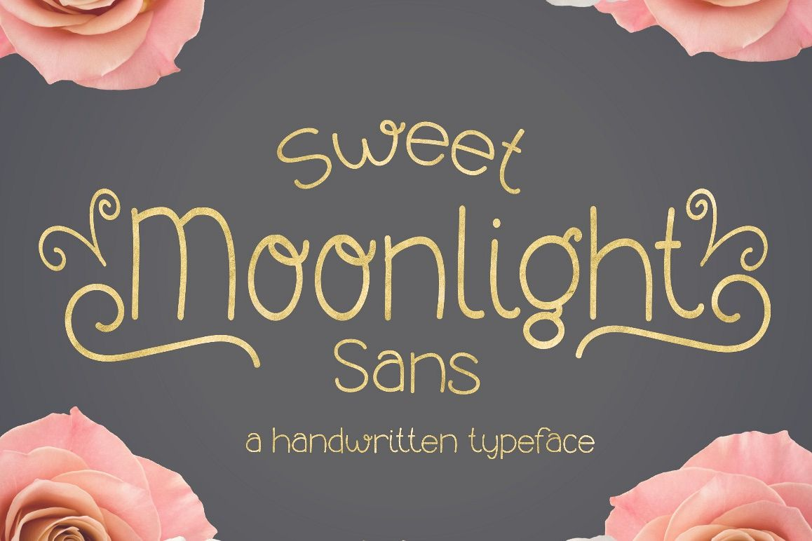 Sweet Moonlight Sans example image 1