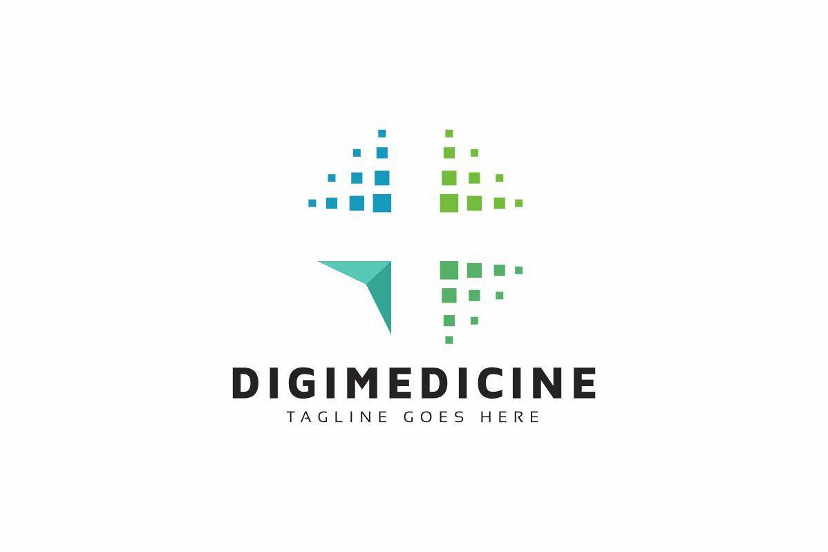 Digital Medicine Logo example image 1