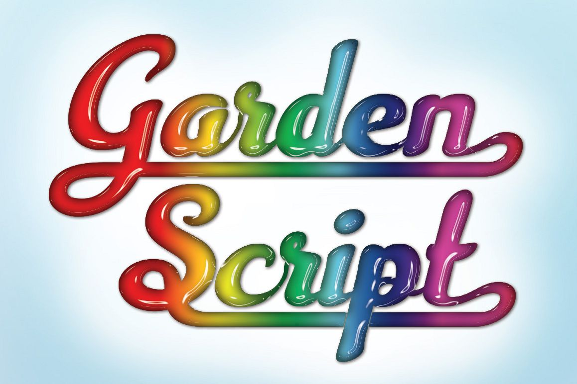 Garden Scipt example image 1