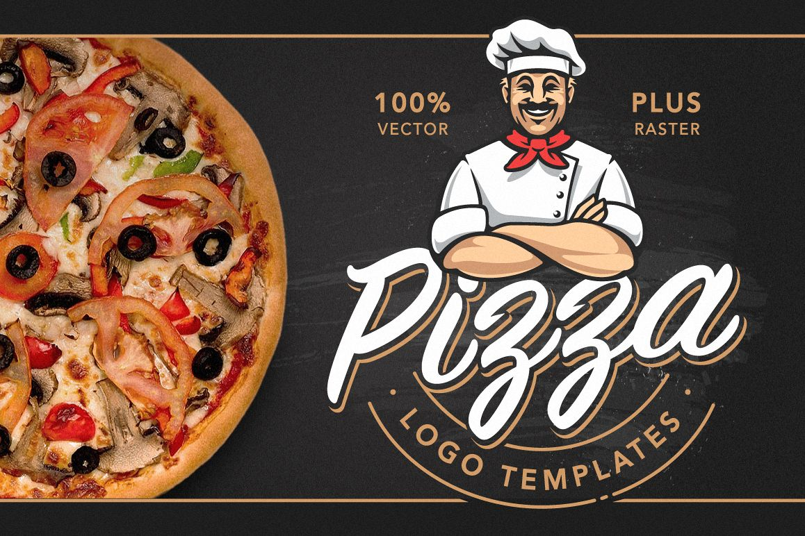 Pizza Logo Templates example image 1