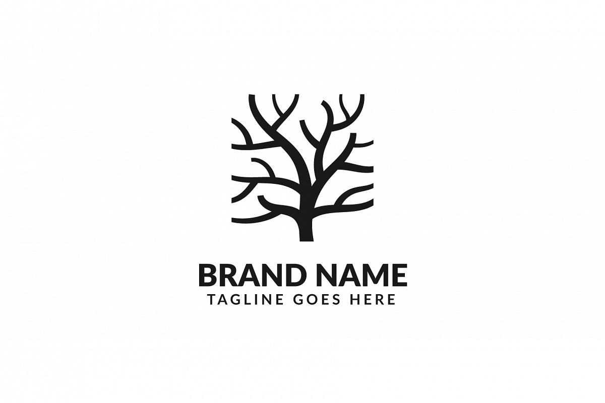 Tree Trunk Logo example image 1
