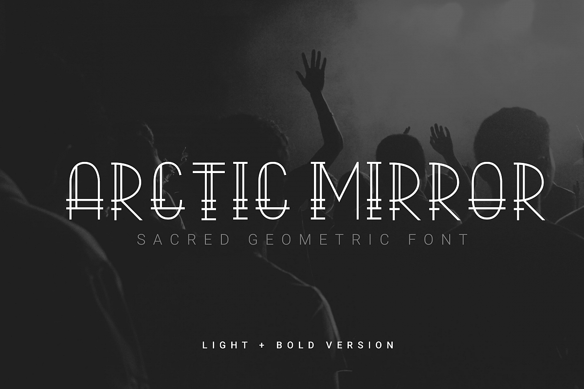 Arctic Mirror - Sacred Font example image 1