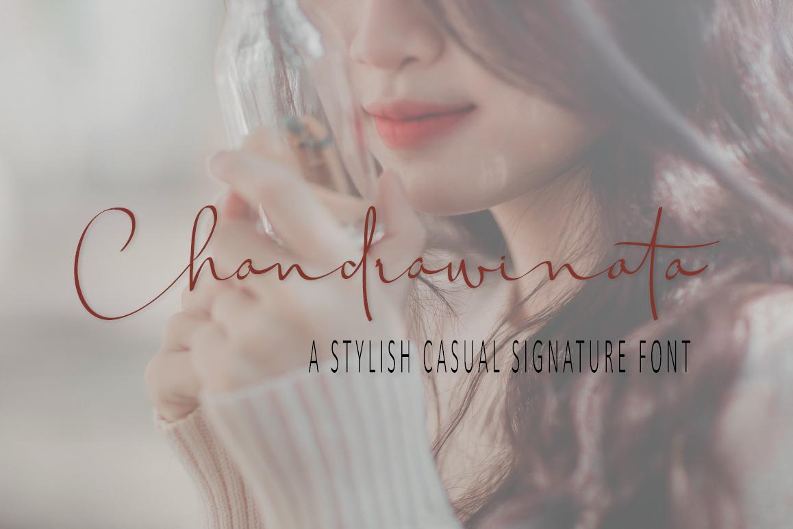 Chandrawinata Signature script example image 1
