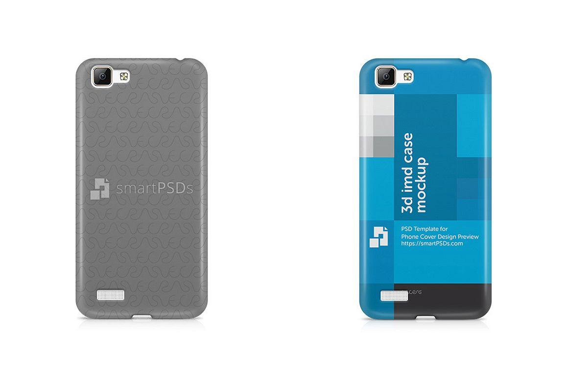 Vivo V1 3d IMD Mobile Case Design Mockup 2015 example image 1