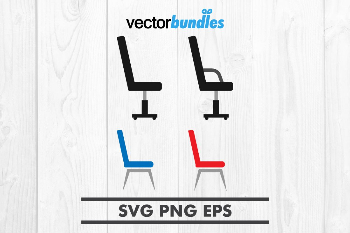 Chair clip art svg example image 1