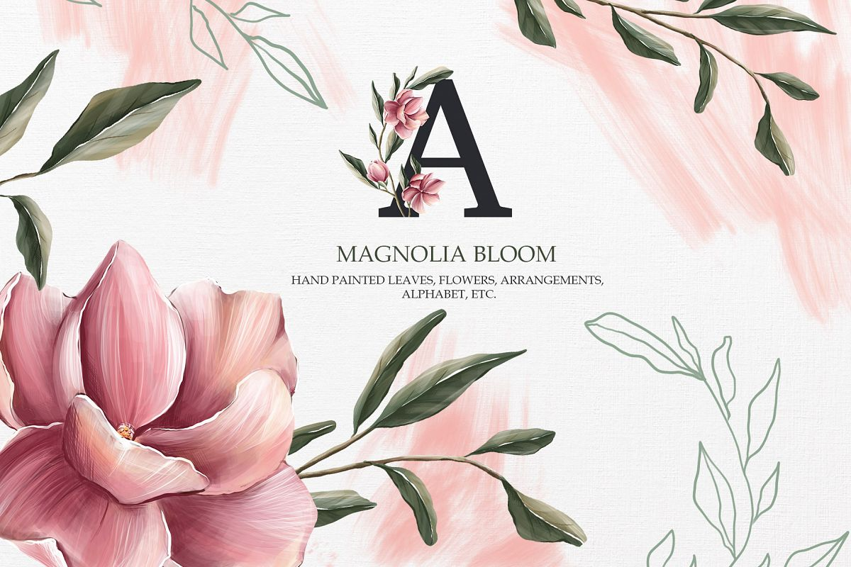 Magnolia bloom Collection example image 1