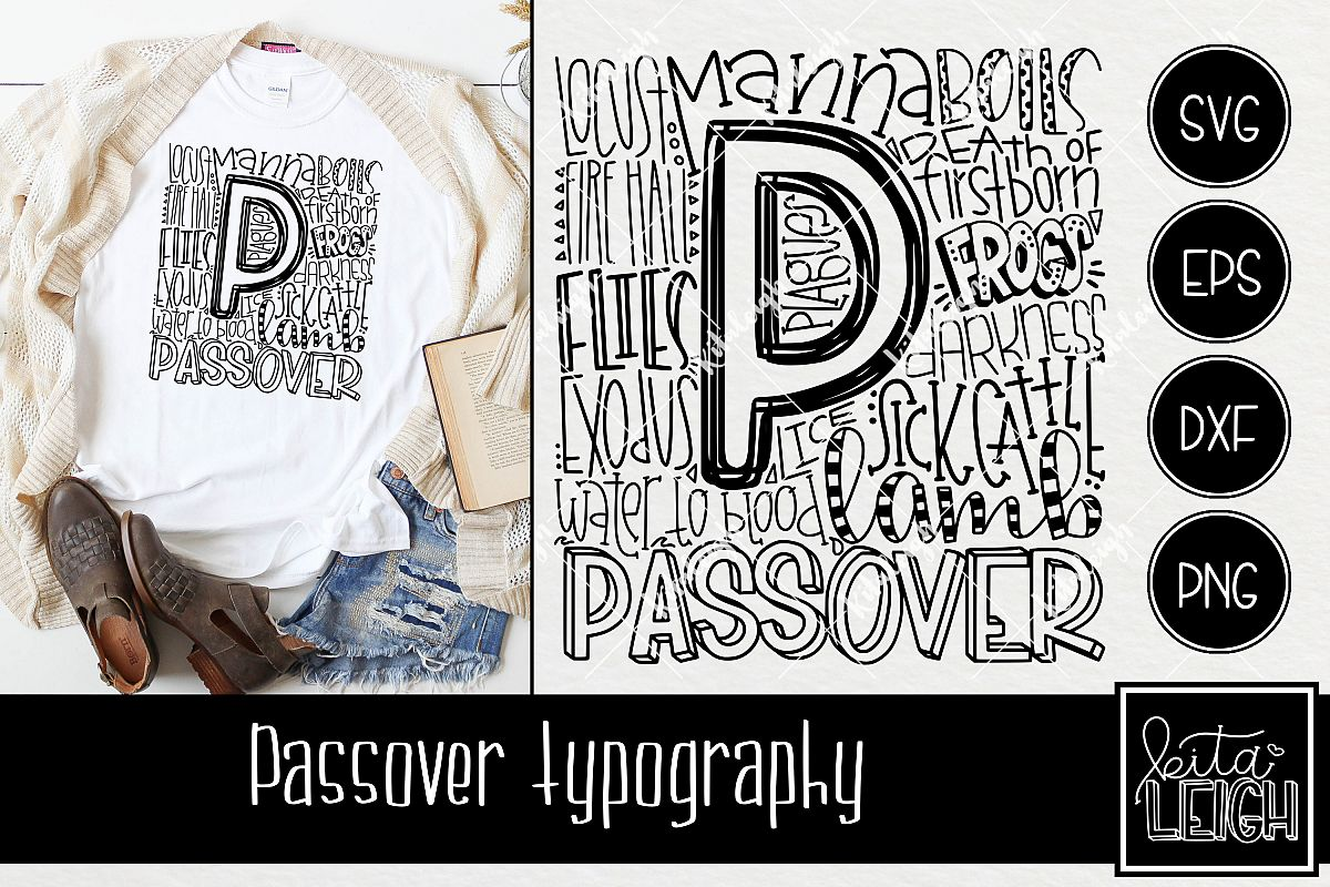 Passover Typography example image 1