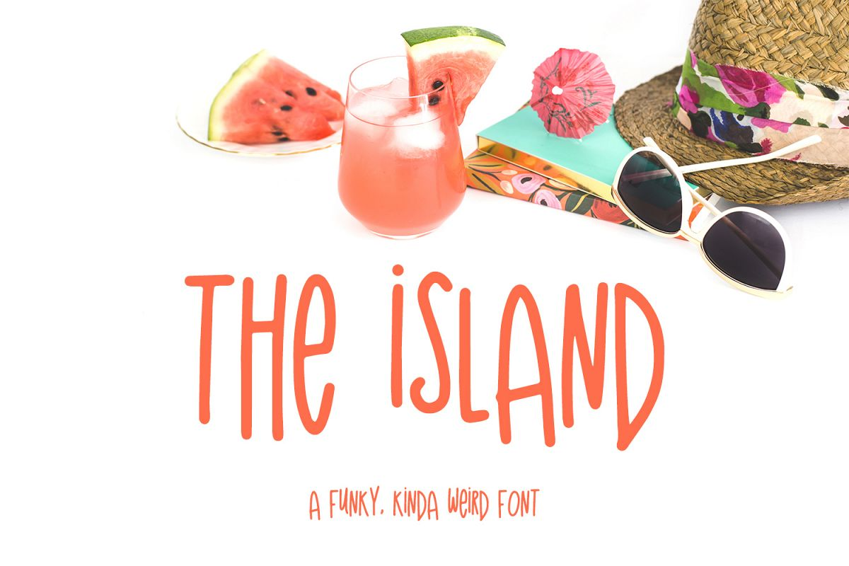The Island Sans Font example image 1