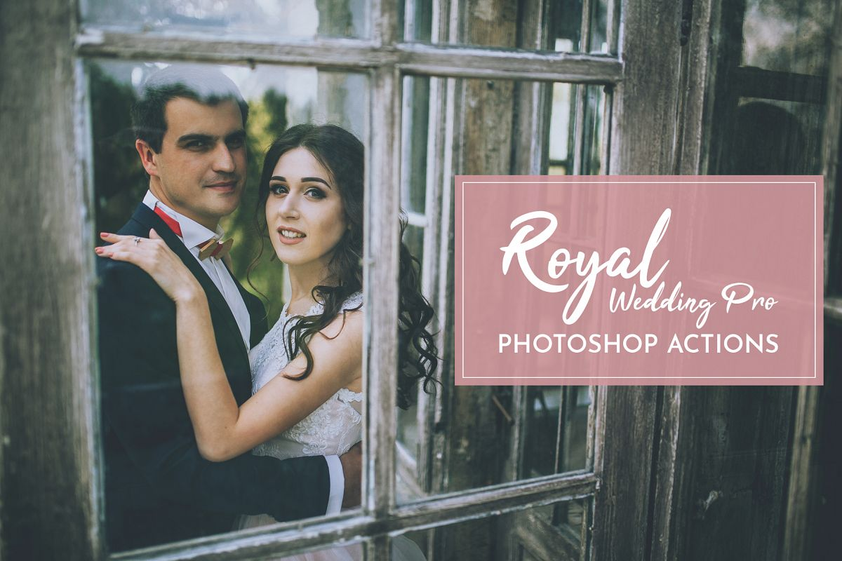 Royal Wedding Pro Photoshop Actions example image 1