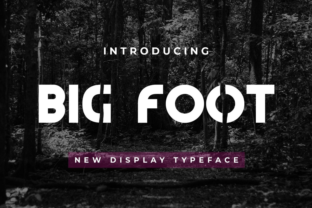 Big Foot example image 1