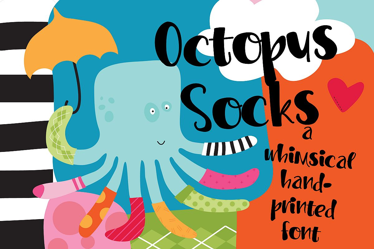 PN Octopus Socks example image 1