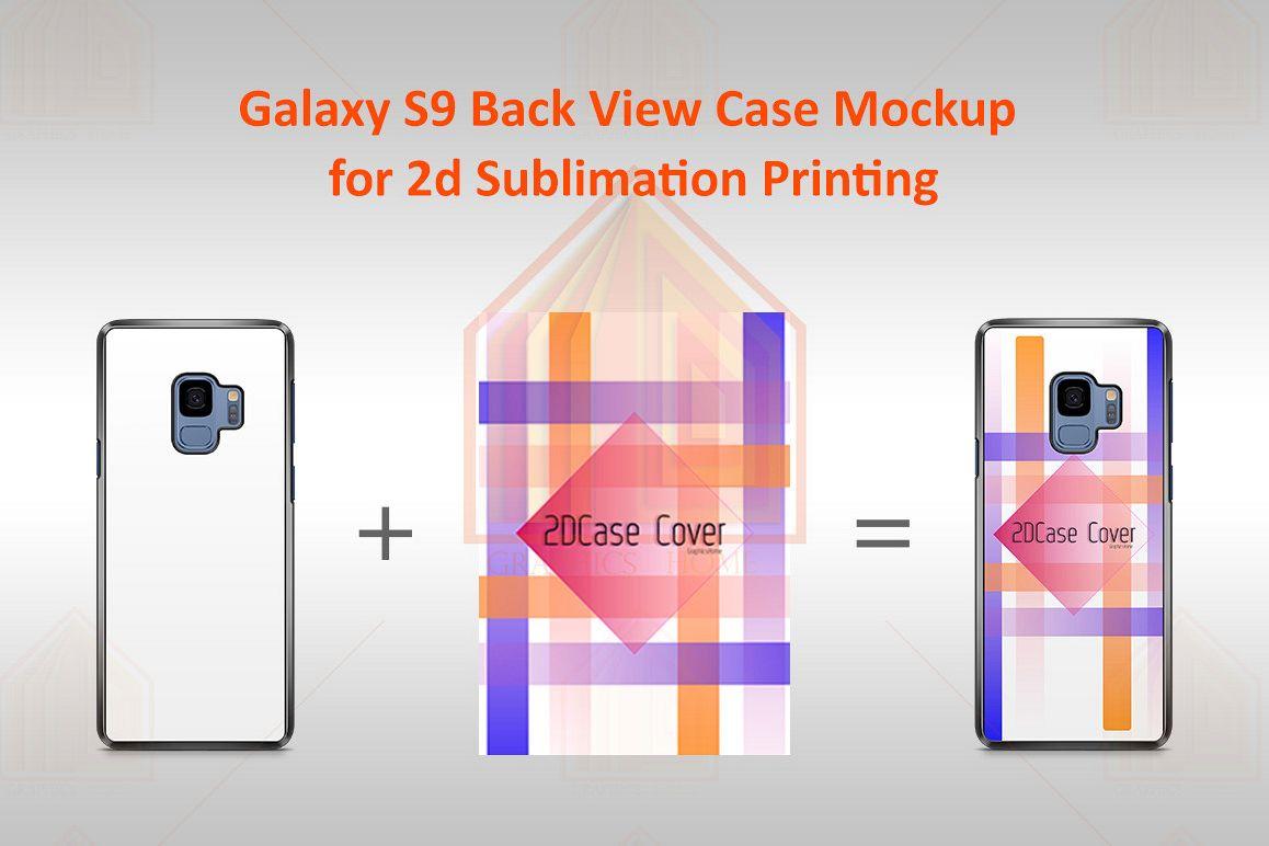 Samsung Galaxy S9 2dCase Design Mockup Back example image 1
