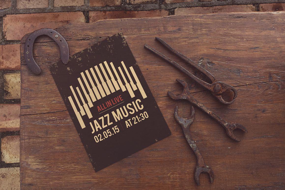 The Horseshoe Poster Mockup example image 1