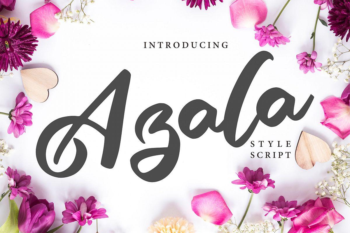 Azala | Style Script Font example image 1