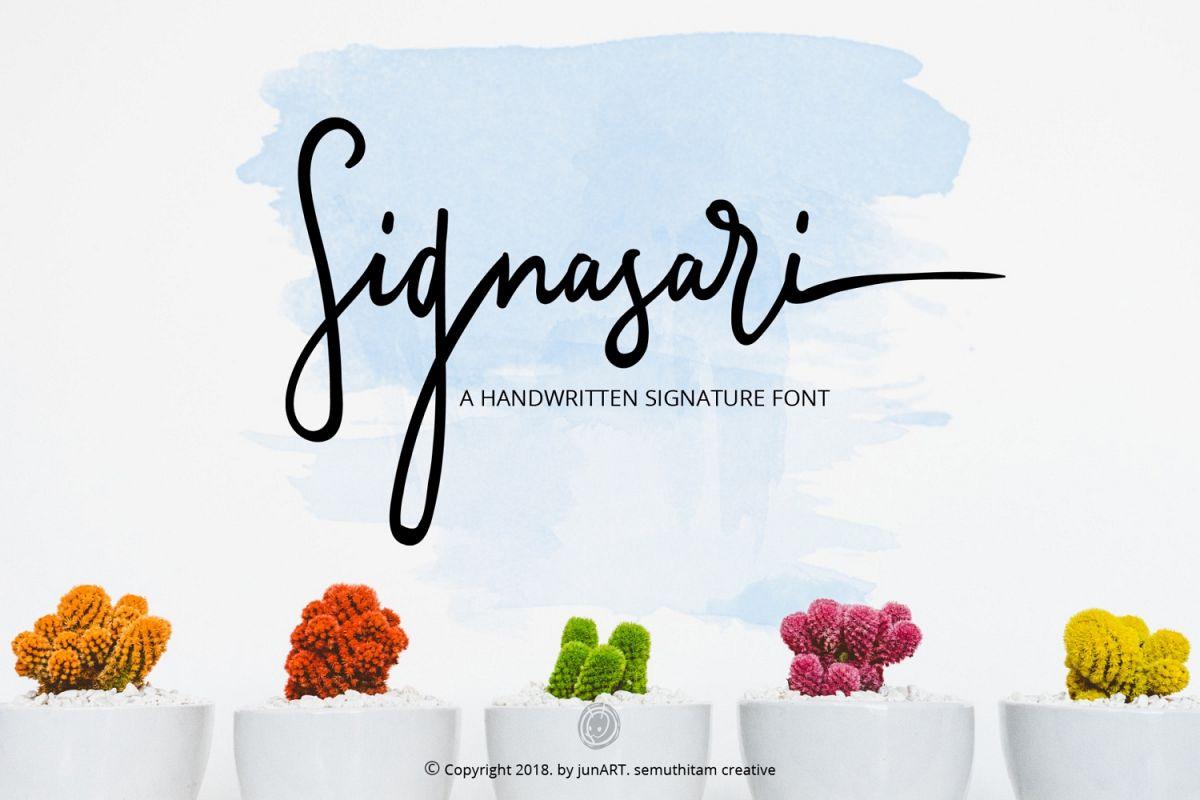 Signasari + Extras example image 1